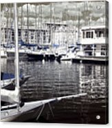 View From The Bow Acrylic Print by John Rizzuto