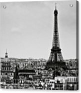View Of City Acrylic Print by Sbk_20d Pictures