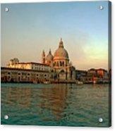 View Of Santa Maria Della Salute On Grand Canal In Venice Acrylic Print by Michael Henderson