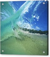 View Through Wave Acrylic Print by Vince Cavataio - Printscapes