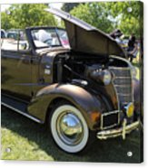 Vintage Chevrolet . 5d16161 Acrylic Print by Wingsdomain Art and Photography