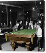 Vintage Pool Hall Acrylic Print by Andrew Fare