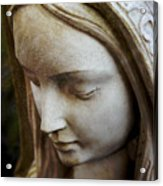 Virgin Mary Acrylic Print by Off The Beaten Path Photography - Andrew Alexander