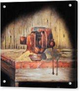 Vise Acrylic Print by Bob Hallmark