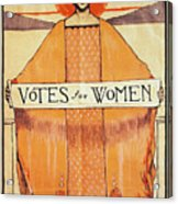 Votes For Women, 1911 Acrylic Print by Granger