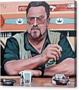 Walter Sobchak Acrylic Print by Tom Roderick