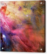 Warmth - Orion Nebula Acrylic Print by The  Vault - Jennifer Rondinelli Reilly