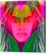 Warrior Goddess IIII Acrylic Print by Devalyn Marshall