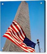 Washington Monument Acrylic Print by Ilker Goksen