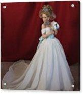 Wedding Gown Acrylic Print by Chuck Shafer