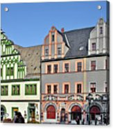 Weimar Germany - A Town Of Timeless Appeal Acrylic Print by Christine Till
