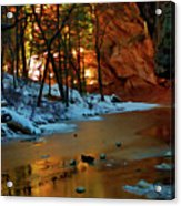 West Fork 07-044 Acrylic Print by Scott McAllister