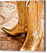 Western Wear Acrylic Print by Jill Smith