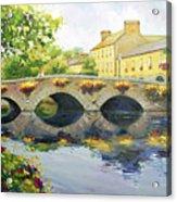 Westport Bridge County Mayo Acrylic Print by Conor McGuire