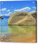 Whale Beach Lake Tahoe Acrylic Print by Brad Scott