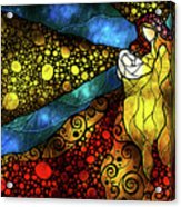 What Child Is This Acrylic Print by Mandie Manzano