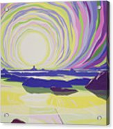 Whirling Sunrise - La Rocque Acrylic Print by Derek Crow