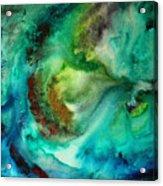 Whirlpool By Madart Acrylic Print by Megan Duncanson