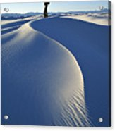 White Sands National Monument, Nm Usa Acrylic Print by Dawn Kish