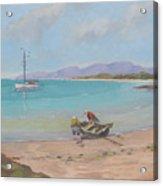 Whitsunday Sailors Acrylic Print by Murray McLeod