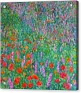 Wildflower Current Acrylic Print by Kendall Kessler