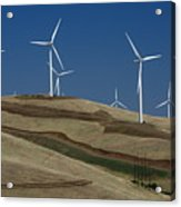 Wind Power Acrylic Print by Todd Kreuter