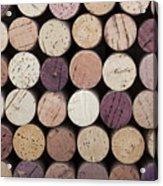 Wine Corks  Acrylic Print by Jane Rix