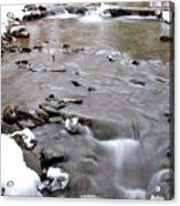 Winter Monongahela National Forest Acrylic Print by Thomas R Fletcher