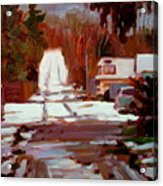 Winterbego Acrylic Print by Brian Simons