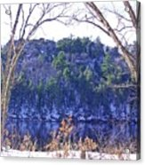 Wisconsin River 3 Acrylic Print by Dave Dresser