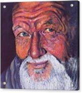 Wisdom Acrylic Print by Curtis James