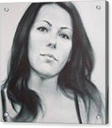 Woman Acrylic Print by Sergey Ignatenko