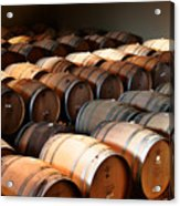 World-class Wine Is Made In California Acrylic Print by Christine Till