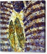Worship B Acrylic Print by Valeriy Mavlo