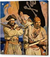 Wyeth: Treasure Island Acrylic Print by Granger
