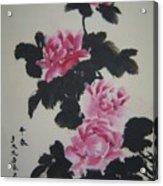 Xh020 Contend Spring Acrylic Print by Yi Long