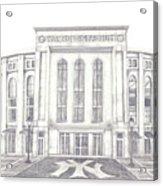 Yankee Stadium Acrylic Print by Juliana Dube