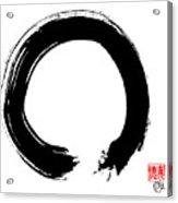 Zen Circle Five Acrylic Print by Peter Cutler