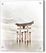 Zen Acrylic Print by Jacky Gerritsen