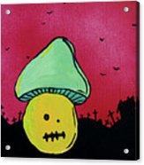 Zombie Mushroom 2 Acrylic Print by Jera Sky