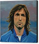 Andrea Pirlo Canvas Print by Paul Meijering