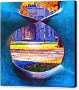 Blair Hall Gate  Canvas Print by George Oze