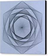Energy Spiral Canvas Print by Jason Padgett