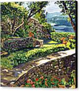 Garden Stairway Canvas Print by David Lloyd Glover