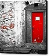 Red Door Perception Canvas Print by Bob Orsillo