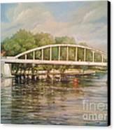 Tartu Arch Bridge Canvas Print by Ahto Laadoga
