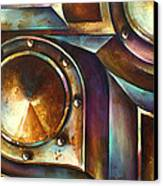 ' The Keep ' Canvas Print by Michael Lang