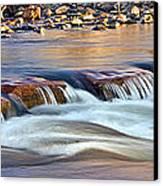 0331 Oak Creek Canvas Print by Steve Sturgill