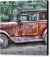 1928 Chevy Canvas Print by Robert Jensen