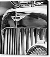 1934 Aston Martin Mark II Short Chassis 2-4 Seater Grille Emblem Canvas Print by Jill Reger